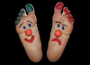 Clown feet copy