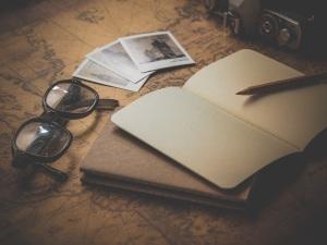 Notebook writing copy
