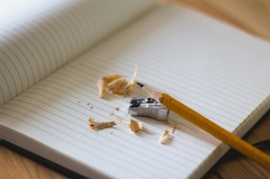 Notepad and pencil copy