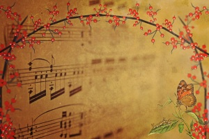 music with butterfly copy