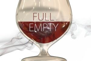 glass half full empty