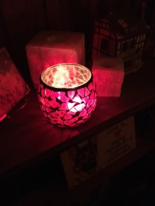 Candle in broken glass copy