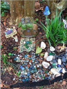 Ella's fairy house 2014