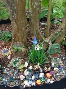 Fairy and Gnome garden 2014