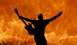 guitar fire