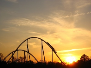 sunset-roller-coaster
